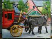 """Old West Days Parade""  11x14 Gallery Wrap  $650"