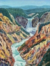 #2 Yellowstone Canyon 11x14 Giclee prints $255