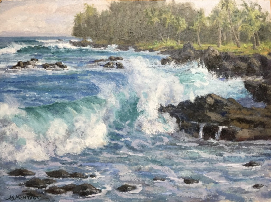 """Pacific Swell""  18x24  $1800 - Matt Montagne"