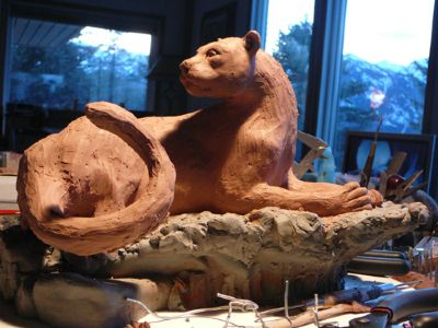 "Click to learn about being the ""Sponsor"" of this cougar sculpture - Copyright by Matt and Judy Montagne"