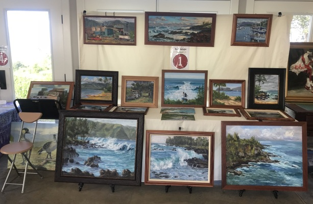 Please See Maui Open Studio portfolio for newest island paintings - Copyright by Matt and Judy Montagne
